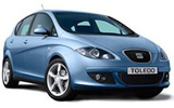 Seat Toldo car rental at Belfast, UK