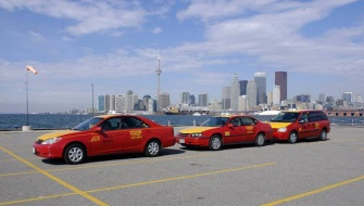 Car rental at Toronto Airport, Canada