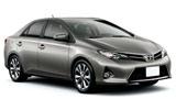 Toyota Corolla car rental at Los Angeles, USA