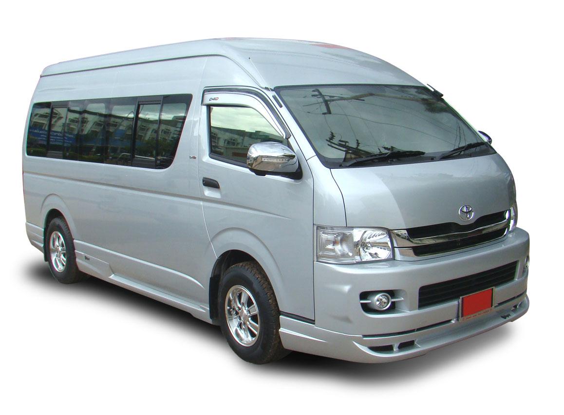 Toyota Minibus car rental at Langkawi, Malaysia