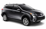 Toyota Rav 4 car rental at Los Angeles, USA