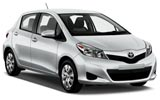 Toyota Yaris car rental at Cork, Ireland