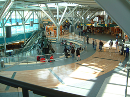 Car rental at Vancouver Airport, Canada