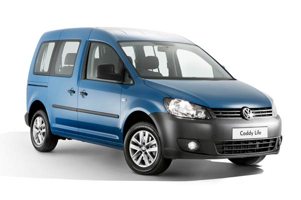 Volkswagen Caddy car rental at Fuerteventura, Spain