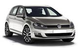 Volkswagen Golf car rental at Alicante, Spain