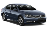Volkswagen Passat car rental at Barcelona, Spain