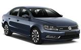 Volkswagen Passat car rental at Barcelona, Spain