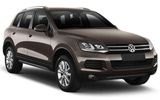 Volkswagen Touareg car rental at Glasgow, UK