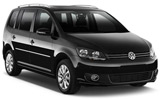 Volkswagen Touran 5 Seater car rental at Alicante, Spain