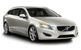 Volvo V60 car rental at Bari, Italy