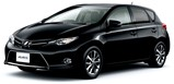 Toyota Auris car rental at Cape town Airport, South Africa