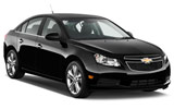 Chevrolet Cruze car rental at Calgary Airport, Canada
