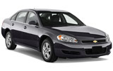 Chevrolet Impala car rental at Denver Airport, USA