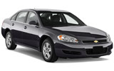 Chevrolet Impala car rental at Toronto Airport, Canada