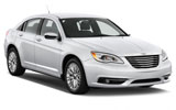 Chrysler 200 car rental at Tampa Airport, USA