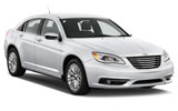 Chrysler 200 car rental at Toronto Airport, Canada