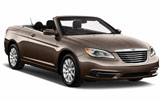 Chrysler 200 Convertible car rental at Orlando Airport, USA