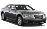 Chrysler 300 car rental at Vancouver Airport, Canada
