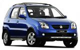 Daihatsu Sirion car rental at Auckland Airport, New Zealand