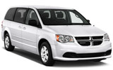 Dodge Caravan car rental at Vancouver Airport, Canada