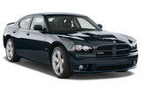 Dodge Charger car rental at Calgary Airport, Canada