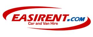 Easirent car rental at Glasgow, UK