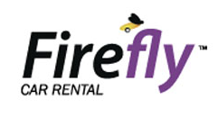 Firefly car rental at Barcelona, Spain