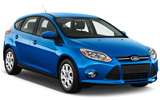 Ford Focus car rental at Phuket Airport, Thailand