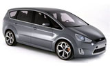 Ford Galaxy car rental at Dublin Airport, Ireland
