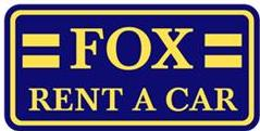 Fox car rental at Los Angeles, USA