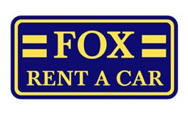 Fox car rental at Belfast, UK