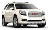 GMC Acadia car rental at Calgary Airport, Canada