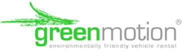 Greenmotion car rental at Bristol, UK