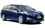 Hyundai i40 car rental at Dublin Airport, Ireland