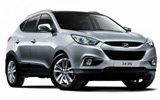 Hyundai IX35 car rental at Dublin Airport, Ireland