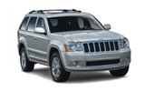 Jeep car rental at Toronro Airport, Canada