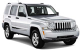 Jeep Liberty car rental at Orlando Airport, USA