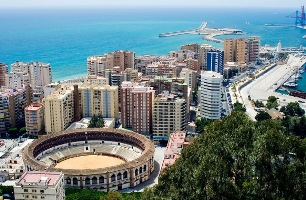 Car rental at Malaga Airport, Spain