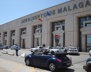 Meet & Greet car rental option at Malaga Airport, Spain