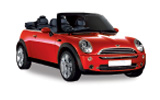 Mini Cooper Convertible car rental at Bangkok - Suvarnabhumi Airport, Thailand