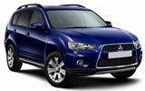 Mitsubishi SUVs car rental at Gold Coast Airport, Australia