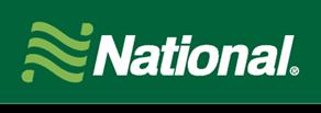 National car rental at Vancouver Airport, Canada
