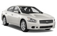 Nissan Maxima car rental at Calgary Airport, Canada