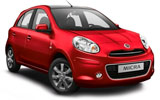 Nissan Micra car rental at Bangkok - Suvarnabhumi Airport, Thailand