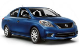 Nissan Versa car rental at Tampa Airport, USA