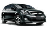Opel Zafira car rental at Phuket Airport, Thailand