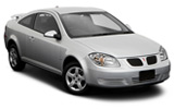 Pontiac G5 car rental at Denver Airport, USA