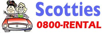 Scotties car rental at Auckland Airport