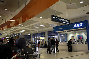 Car rental at Sydney Airport, Australia