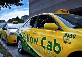 Taxi at Denver Airport, USA